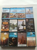 Bundle Of 12 Classic And Orchestra Music Cassette Tapes Free shipping UK