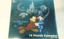 Disney Parks 16-MonthDisneyWorld Wall Calendar 2016- 2017 Mickey Nip