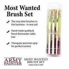 The Army Painter - Wargamer Most Wanted Brush Set