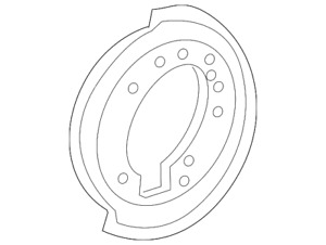 Genuine Ford Backing Plate 6L2Z-2C029-AA