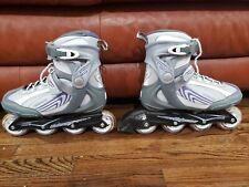 Bladerunner Pro 80 Rollerblades White/purple/gray Size 9