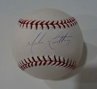 Mark Loretta Boston Red Sox Autographed Signed MLB Baseball coa=JSA