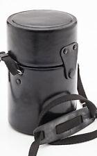 Objektivköcher lens case in Schwarz für Kalimar MC 500mm mirror f/8.0 Objektiv