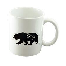Cute Papa Bear Mug Birthday Fathers Day XCMN215