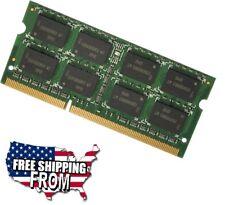 4GB DDR3 1066 MHz PC3-8500 204Pin Single Stick Sodimm Laptop Notebook RAM Memory