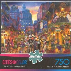 Cities in Color Jigsaw Puzzle The Big Easy,New Orleans NIB