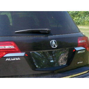 2pc. Luxury FX Stainless Steel Rear Accent Trim Kit for 2007-2013 Acura MDX