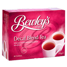 Bewley's Tea Decaf x 1, 80 Teabags , exp Nov 2018 ,delivery in 3-4 business days