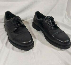 Dr.Scholls Mens Dave Uniform Dress Shoe 10 W Black