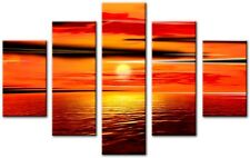 5 Panel Total Size 115x80cm Large Canvas Wall Digital Art Print GRACE