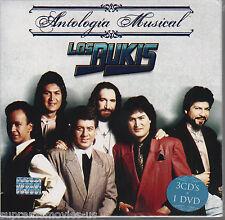 NEW - Antologia Musical Los Bukis 3 CD's + 1 DVD 600753323632