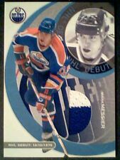 MARK MESSIER AUTHENTIC NHL DEBUT PIECE OF A GAME-USED JERSEY /50 *SP*