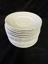 Lot Set 15 Johnson Brothers Richmond White  Saucers ONLY Staffordshire England
