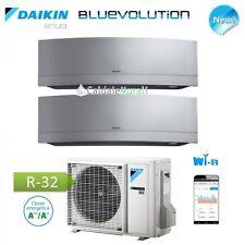 CONDIZIONATORE DAIKIN DUAL INVERTER EMURA SILVER Wi-Fi Bluevolution 7+9 +2MXM40M