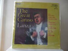 """MARIO LANZA - THE GREAT CARUSO - RCA RECORDS-ARLI-4405(E) - """"SEALED"""""""