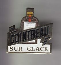 RARE PINS PIN'S .. ALCOOL VIN WINE COINTREAU SUR GLACE ARGENT  ~CY
