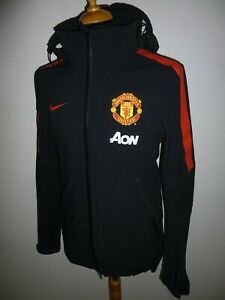 Men's Manchester United NIKE Storm-Fit Windbreaker Training Jacket Coat Small