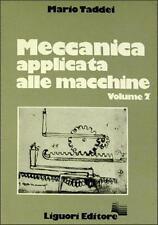 Mario Taddei Meccanica applicata alle macchine Volume II LIGUORI