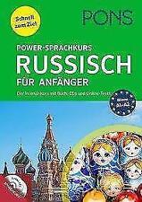 PONS Power-Sprachkurs Russisch für Anfänger (2017, Taschenbuch)