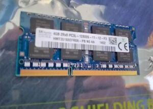 SK Hynix 4GB 2Rx8 DDR3 PC3L-12800S-11-12-F3 RAM SO-DIMM
