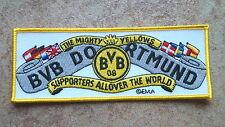 2 Stück Aufnäher BVB  Dortmund The mighty yellows (Nr.959)