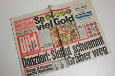 BILDzeitung 13.08.1984 August 13.8.1984 Geschenk 36. 37. 38. 39. 40. Geburtstag