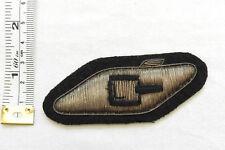 An Original Military RTR Tank Regiment Corps Bullion Cloth Formation Badge (4572