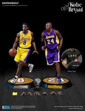 【Pre-Order】 NBA Enterbay Kobe Bryant Lakers Upgrade Dual 1/6 Action Figures