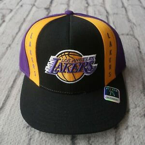 New Los Angeles Lakers Fitted Hat Cap Reebok Vtg