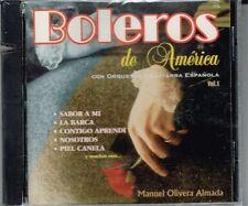 Boleros de America Manuel Olivera Almada VOL 1  BRAND NEW -SEALED  CD