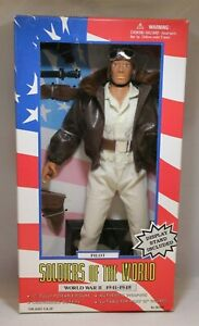 "Soldiers of the World - WWII - Pilot - 12"" Figure 1/6"