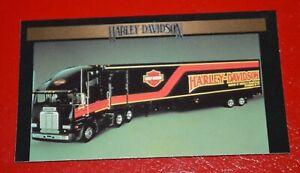 ★★HARLEY DAVIDSON MOTORCYCLES SEMI TRUCK TRACTOR TRAILER PHOTO MAGNET PRINT★★