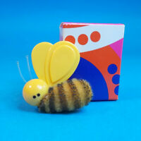 "Vtg 1973 Avon BUMBLEY BEE PIN Brooch Pendant Big Furry Bumble Bee 1.75"" NOS"