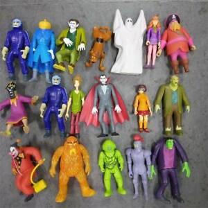 "2011 Scooby-doo Shaggy Zombie DRACULA Creeper Monster 50th anniversary 5"" Figure"