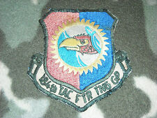 USAF 184TH TAC FTR TNG GP 184 TFTG REPUBLIC F-105 THUD KANSAS ANG JAYHAWK PATCH