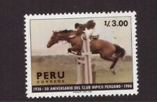 Peru MNH 1987 Horse Club mint stamp