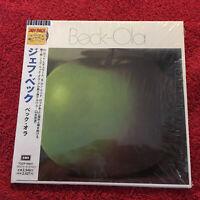THE JEFF BECK GROUP   BECK-OLA  CD JAPAN PRESS 1998 EMI PERFECT SEALED