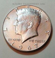 1967 P Kennedy Half Dollar   *40% SILVER*   **FREE SHIPPING**