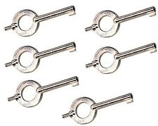 STANDARD Universal Handcuff Key YOU GET ( 6) CUFF KEYS 10094 X 6  #2