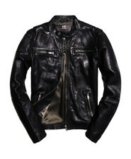 CLASSIC REAL HERO BIKER GIUBOTTO SUPERDRY NERO 2XL