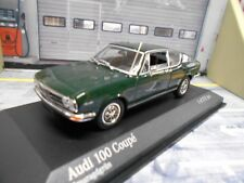 AUDI 100 Coupe MKI 1969 dark green grün NEU NEW Minichamps 1:43