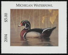 2004 Michigan State Duck Stamp Mint Never Hinged Vf