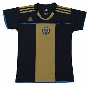 Adidas MLS Youth Girls Philadelphia Union Home Jersey Top Shirt