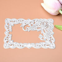 Memory Decor of Butterfly Frame Cutting Dies Stencil Scrapbooking Embossing