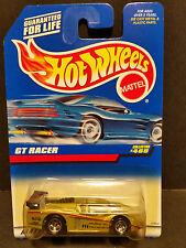1997 Hot Wheels #468 : GT Racer Gold w/5 Spoke Rims - 15964