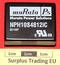 muRata NPH10S4812IC DC-DC Converter 12.1V 0.83A 10W