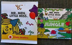 Mr Men Little Miss Book Adventure in the Jungle Mcdonalds Happy Reader 2021 New