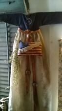 New ListingPrimitives Americana 1776 Patriotic Doll Dress Decor Door Greeter Hanging