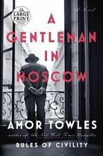 A Gentleman in Moscow: A Novel (Random House Large Print) Free Shipping
