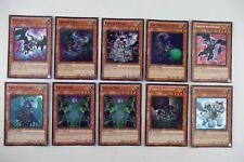 LOT of 10 x Yugioh FABLED HA02 HA03 HA04 TOPI DYF OLTRO 1st Edition Ed HOLO FOIL